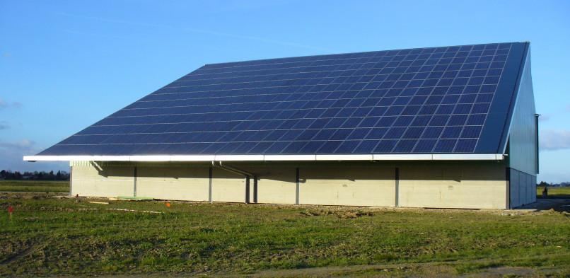 Centrale photovoltaïque intégrée basse tension de Bailleau Le Pin (28)