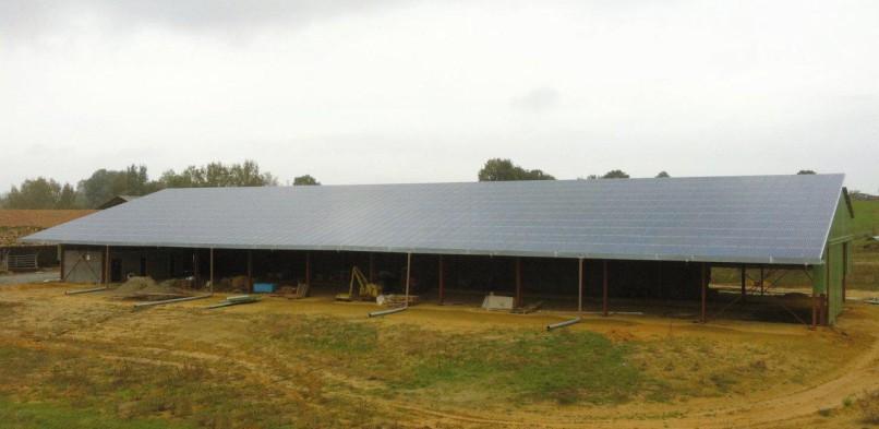 Centrale photovoltaïque intégrée basse tension de Manciet (32)