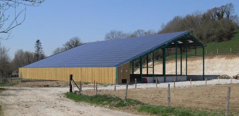 Centrale photovoltaïque intégrée basse tension de Montcavrel (62)