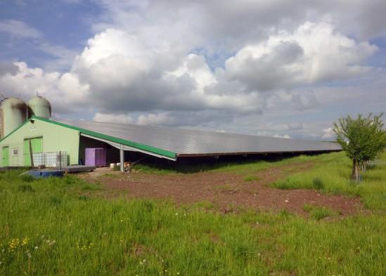 Centrale photovoltaïque intégrée moyenne tension Weinbourg (67)