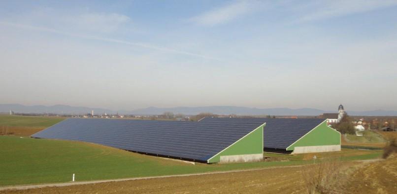 Centrale photovoltaïque intégrée moyenne tension de Niederlauterbach (67)