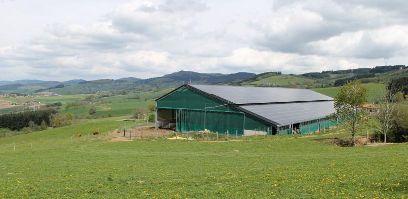 Centrale photovoltaïque intégrée basse tension Puits Energies (69)