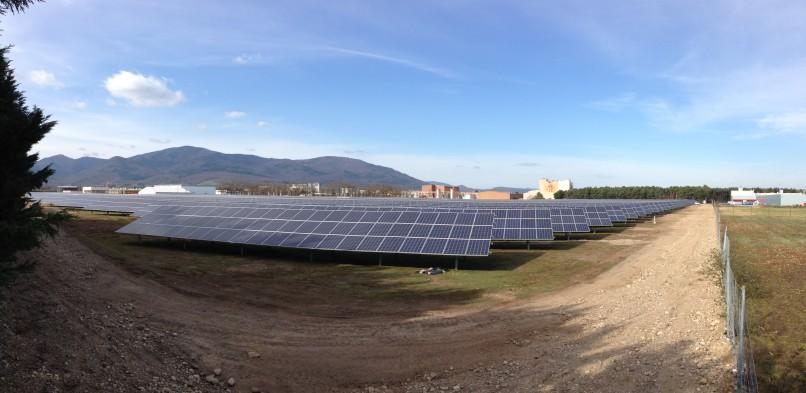 Centrale photovoltaïque au sol Cernay (68)