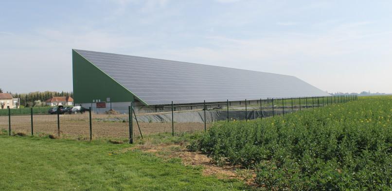 Centrale photovoltaïque intégrée moyenne tension de Ville En Woëvre (55)
