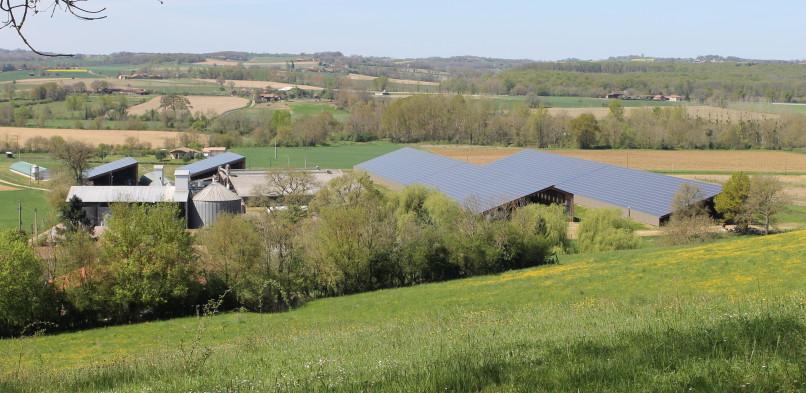 Centrale photovoltaïque intégrée moyenne tension  de Saint-Michel (32)