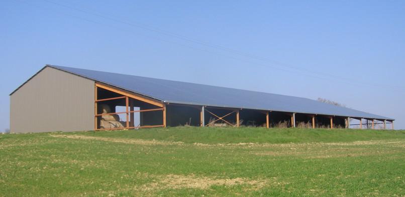 Centrale photovoltaïque intégrée basse tension de Saint-Michel (32)