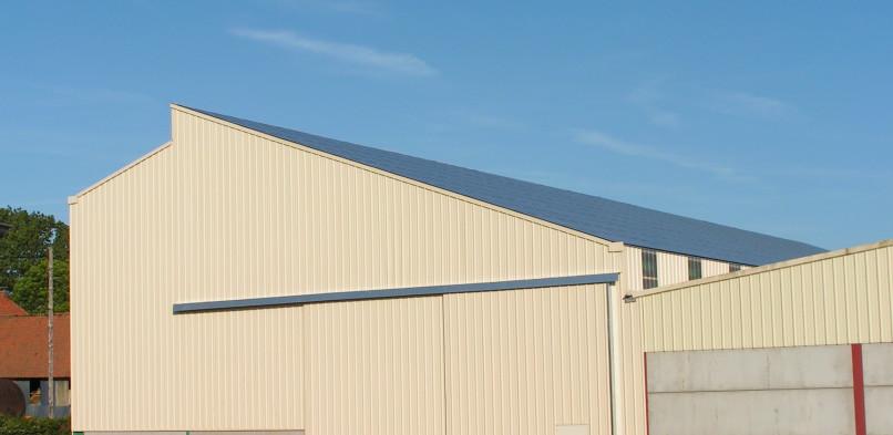Centrale photovoltaïque intégrée basse tension de Crépy (62)
