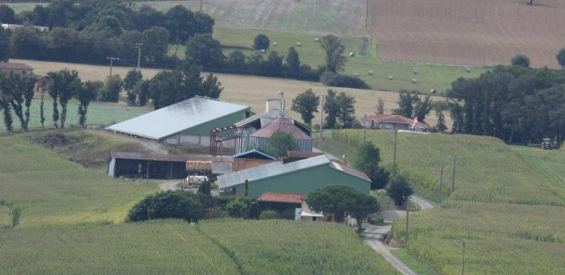 Centrales photovoltaïques intégrées de Belloc-Saint-Clamens (32)