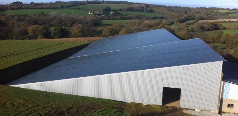 Centrale photovoltaïque intégrée moyenne tension de Toul Ar Zout (29)