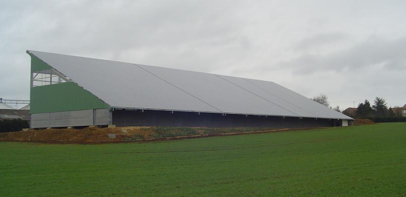 Centrale photovoltaïque intégrée de Roncourt (57)